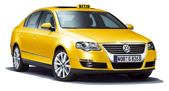 تاكسي في العاصمة الكويت